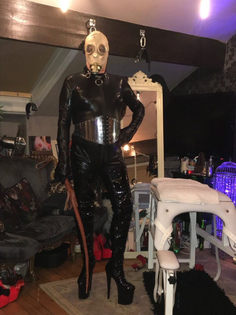 Manchester Huddersfield Mistress with her TV Domme